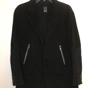 Reporter Made In Italy black men's jacket Size 50R